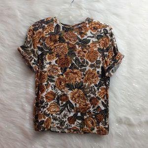 Vintage   floral shirt.